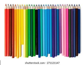 School, rainbow, hand drawn.