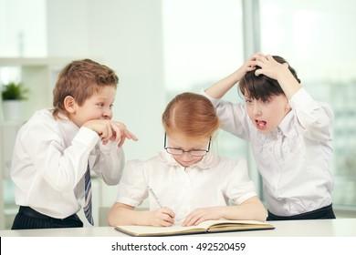 Schoolchild types