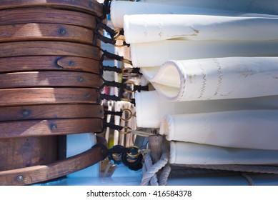 Schooner rigging
