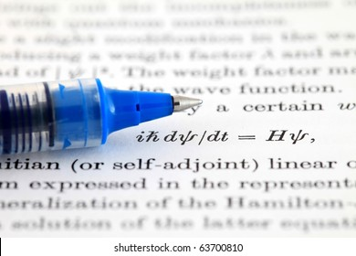 The Schrodinger equation