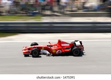 Schumacher - Formula 1 Grand Prix in Montreal (June 2006)