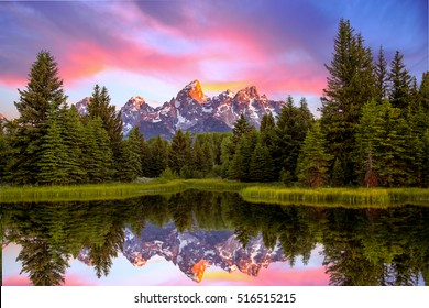 Schwabacher's Landing at Sunrise