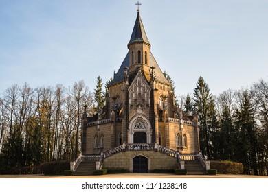 Schwarzenberg tomb in Domanin by Trebon, Czech republic