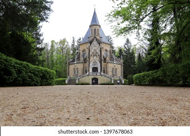 Schwarzenberg tomb in Trebon city. South Bohemian region, Czech Republic.