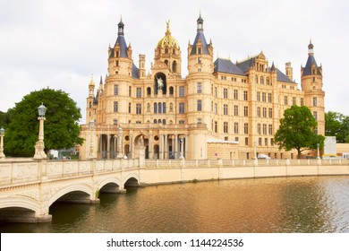 Schwerin Castle. Germany