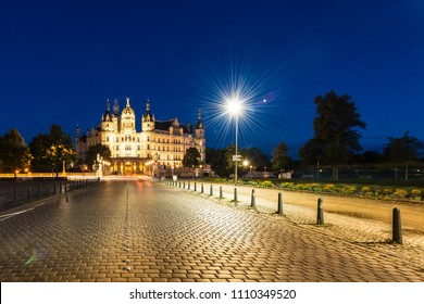Schwerin Palace, or Schwerin Castle (Schweriner Schloss), located in the city of Schwerin, the capital of Mecklenburg-Vorpommern state, Germany