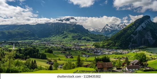 Schwyz valley view