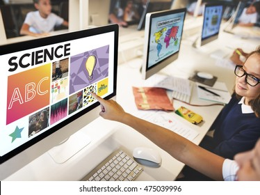 Science Academic Education E-learning Concept