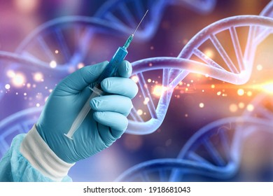 Science Biotechnology DNA Illustration und abstrakte Illustration
