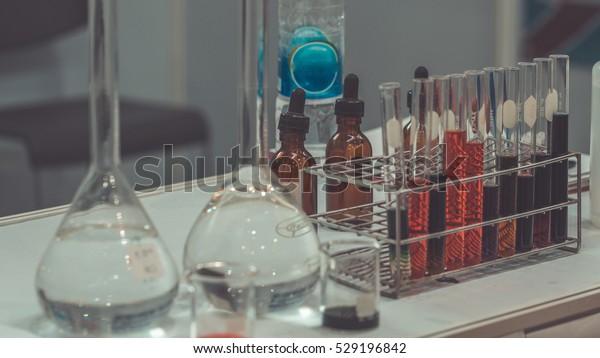 Science Laboratory Equipment Chemistry Lab Equipment Stock