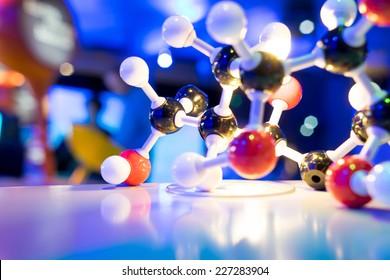 Science Molecule DNA Model Structure, business concept
