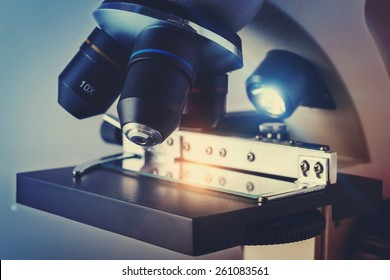Scientific Biological Microscope