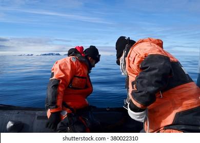 scientific expedition in antarctica