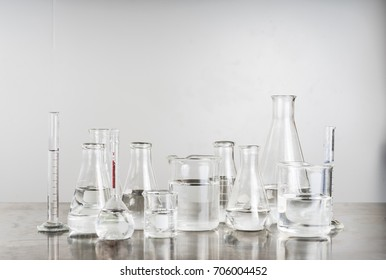 Scientific Glassware For Chemical, Laboratory Research.