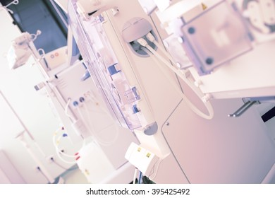 Scientific and practical research laboratory equipment.