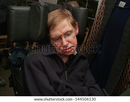 Scientist Nobel Prize Winner STEPHEN HAWKING Stock Photo Edit Now