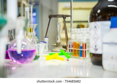 Scientists are organizing equipment for finding melting points in chemistry labs by focusing on the bunsen burner
