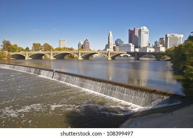 Scioto River in Columbus, Ohio