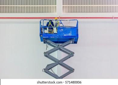 Scissor Lift Images, Stock Photos & Vectors | Shutterstock