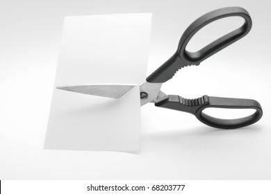 Scissors In Action