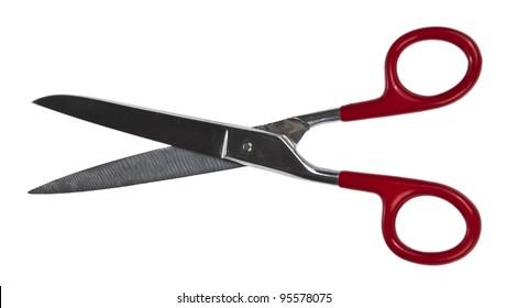 Scissors isolated on white