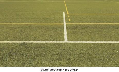 Scoccer Field ground grass