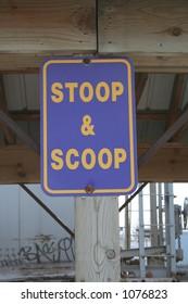 Scoop Sign