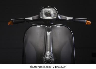 Scooter-Vorderseite