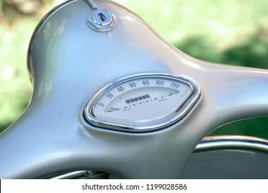 scooter handlebar odometer