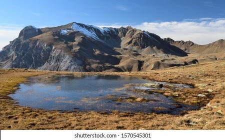 Scorluzzo Lake in Stelvio Alpine area