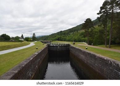 Scotland Caledonian Canal Garlocky Bottom Lock Fort William