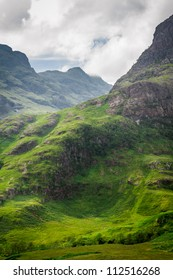 Scotland highland in summer - Shutterstock ID 112516268