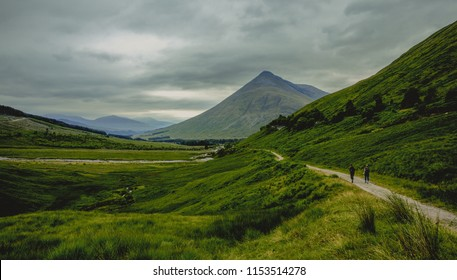 Scotland Highlands Mistic Landscape Scenery in Bridge of Orchy Nature Travel Great Britan