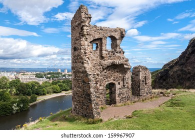 Scotland landscape, Edinburgh.