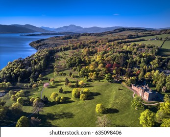 Scotland tourism, Loch Lomond near Glasgow.