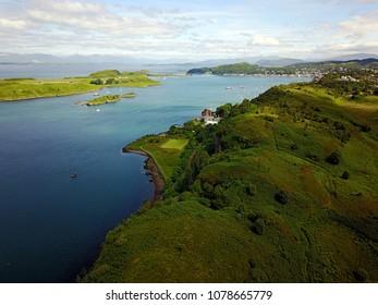 Scotland, West Coast - Oban. June, Summer.