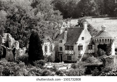 Scotney Castle Black and White - Kent