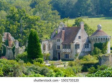 Scotney Castle and gardens - Kent - England