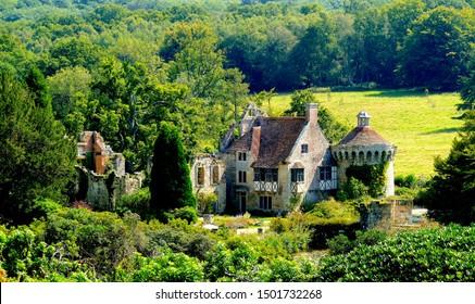 Scotney castle in Kent England