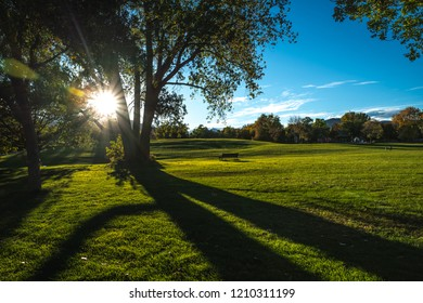 Scott Carpenter Park in Boulder, CO on a sunny day