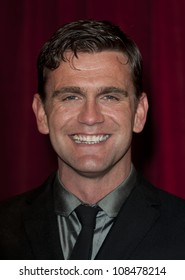 Scott Maslam arriving for the 2012 British Soap Awards , LWT Southbank, London. 28/04/2012 Picture by: Simon Burchell / Featureflash
