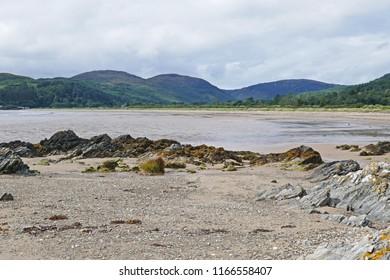 Scottish Beach Landscape Seascape (Carradale)