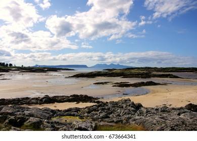 Scottish Beach in Summer