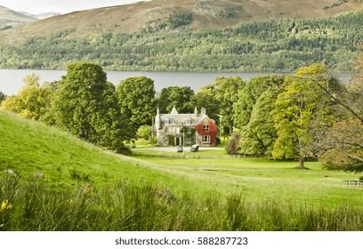 Scottish Landscape by Loch Earn
