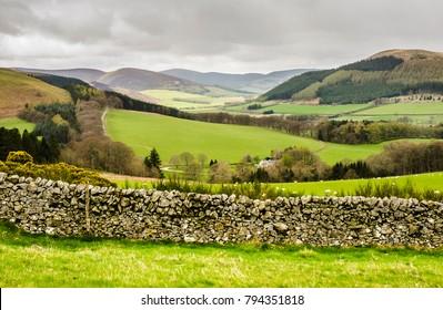 Scottish Landscape near Peebles