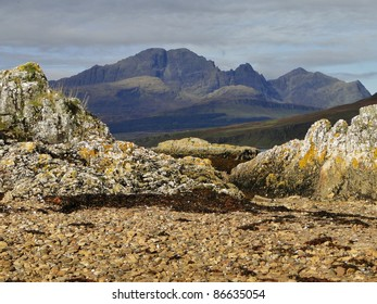 Scottish mountain range