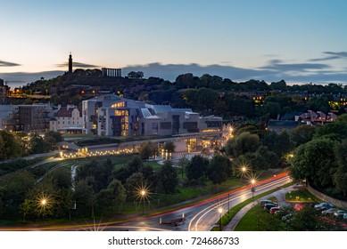 Scottish Parliament Building, Edinburgh, Scotland