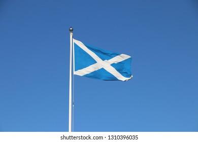 Scottish Saltire Flag