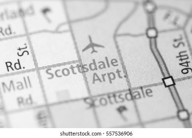 Scottsdale Airport. Arizona. USA