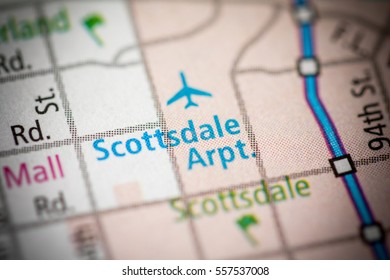 Scottsdale Airport. Arizona. USA